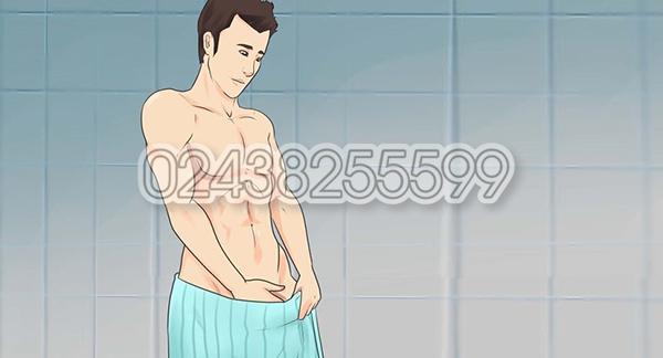 Cách vệ sinh sau khi cắt bao quy đầu